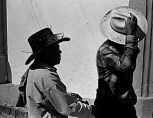 Two Men Wearing Sombreros, Atotonilco, 1997