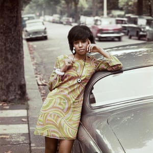Erlin Ibreck, a Drum cover girl, photographed in London in 1966
