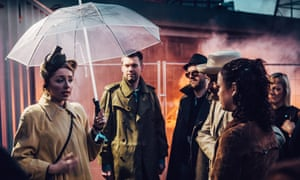 In Secret Cinema's Blade Runner event, guests traded photographs to get access to a new area of the site.