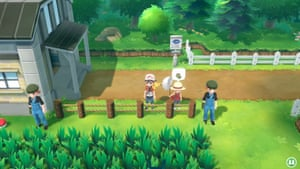 Pokémon Let's Go screenshot.