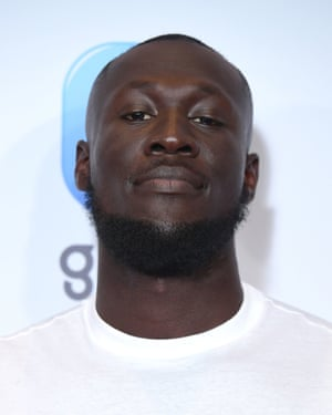 Nominated in three categories … Stormzy.