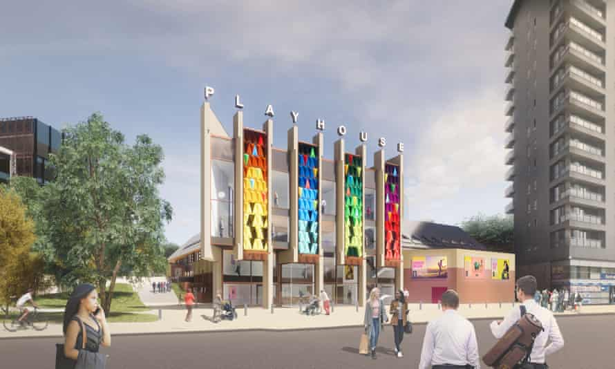 An artist's impression of the new Leeds Playhouse