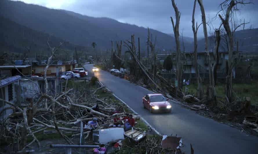 The aftermath of Hurricane Maria, in Yabucoa, Puerto Rico, in September 2017. Fema, which was criticized for its faltering response, has been trying to juggle hurricane preparedness and the coronavirus.
