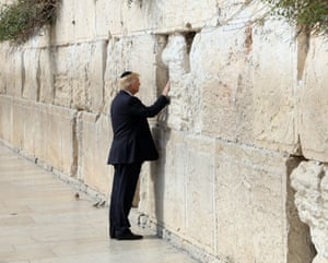 Trump became the first sitting US president to visit the Western Wall in Jerusalem, Judaism's holiest prayer site