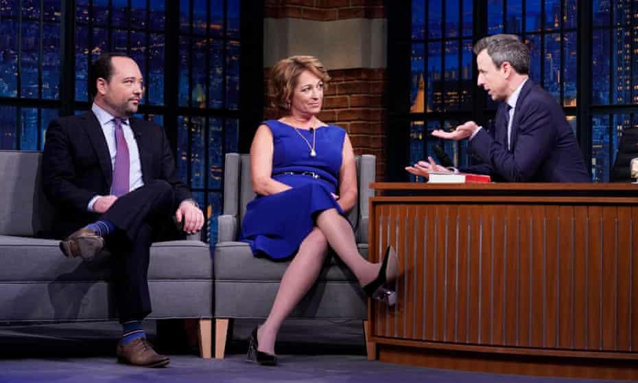 Philip Rucker and Carol Leonnig speak to Seth Myers on NBC.