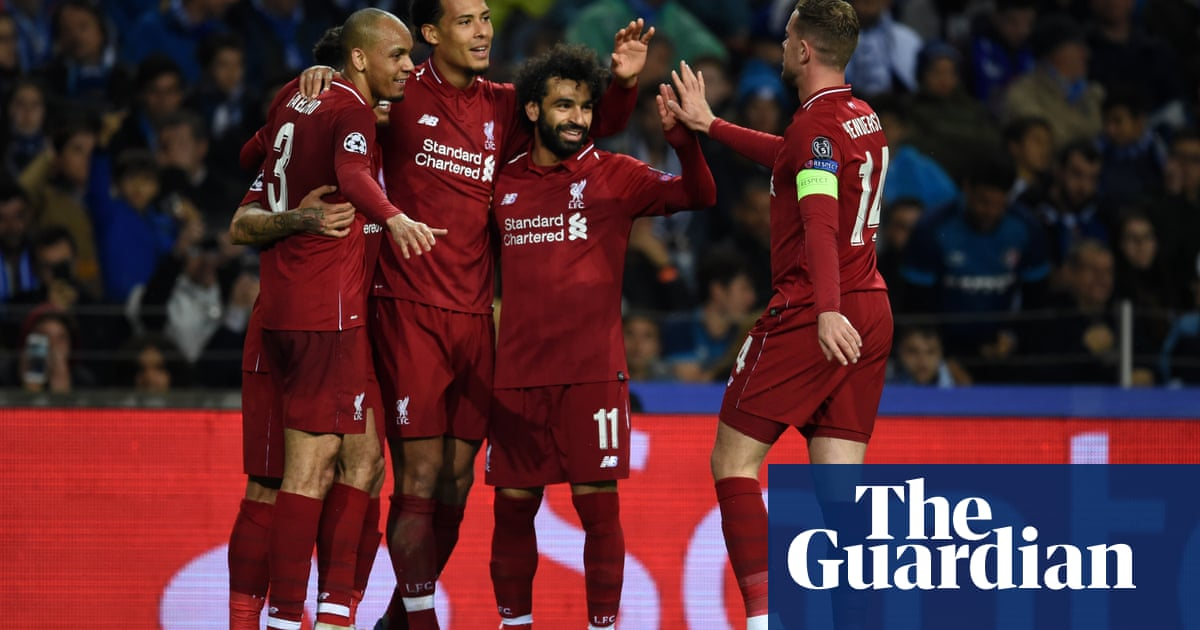 98de59e13 Liverpool show resilience and sense of purpose in putting out Porto ...