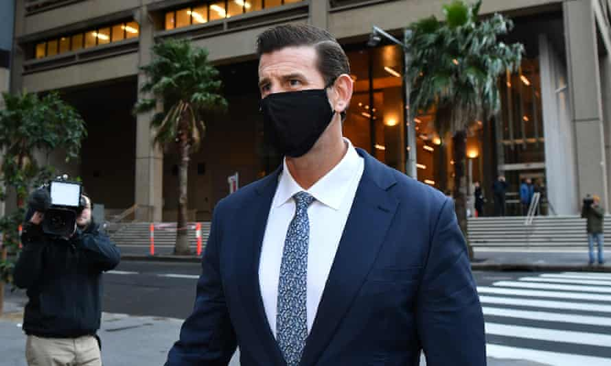 Ben Roberts-Smith at the federal court in Sydney