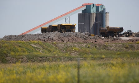 The Eagle Butte mine in in Gillette, Wyoming, abruptly closed.