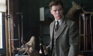 'He's almost jumped forward in time to become an old man' … Poulter as Roderick in The Little Stranger.