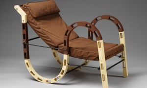 Fold-up chair, by Eileen Gray.