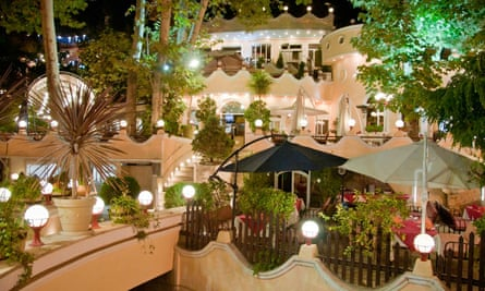 The Koohpayeh restaurant in Darband.