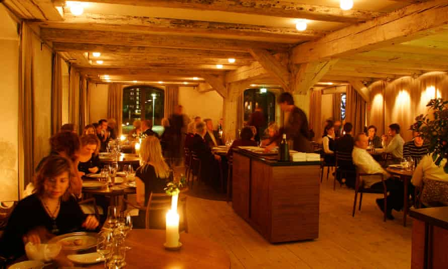 Noma restaurant in Copenhagen, which serves food using Nordic ingredients only.