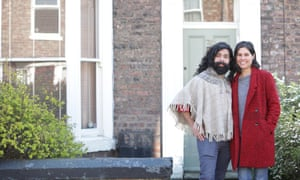 Diego Vidal-Cruzprieto and Awa Lelontko, who are married but had been living apart due but decided to move in together during the coronavirus outbreak