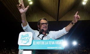 Artur Mas, current Catalan president, has set out a timetable for independence which would see the region split from Spain by 2017.