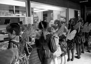 Fairies queuing for lunch, 2001