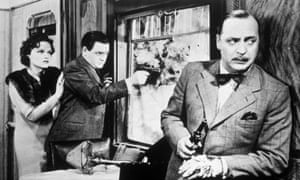 A still from Alfred Hitchcock's 1938 The Lady Vanishes, adapted from The Wheel Spins.