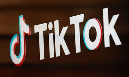 The TikTok logo outside the company's US head office in Culver City, California.