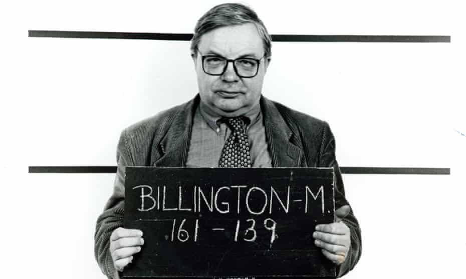 Guardian theatre critic Michael Billington in 1997.