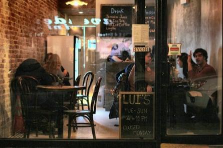 Lui's Thai Food, 128 E 4th Street New York.