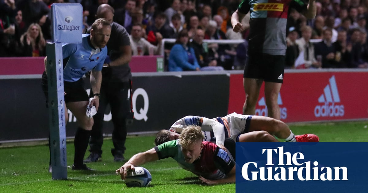 Smith and Lynagh lead Harlequins' second-half comeback to stun Bristol