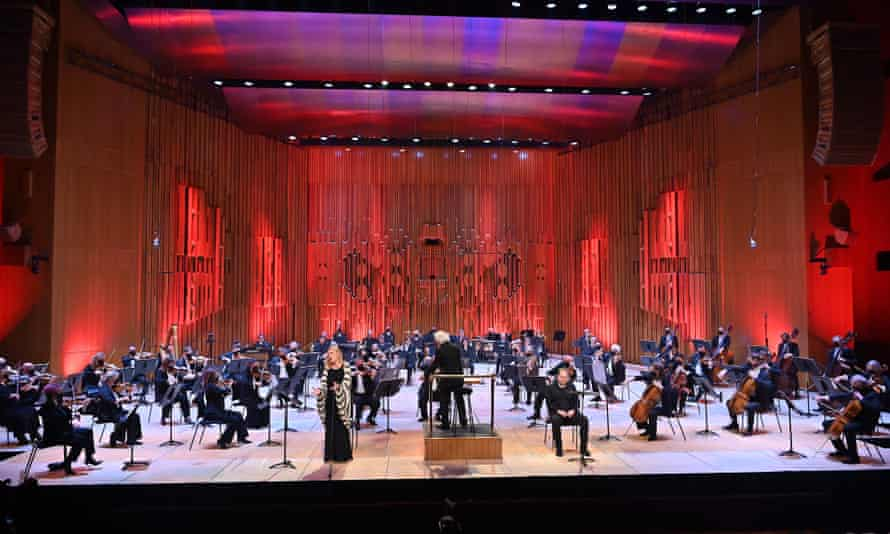 The LSO conducted by Sir Simon Rattle