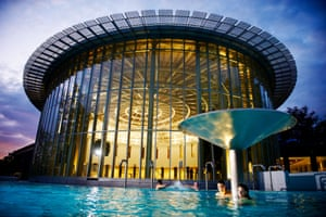 Les Thermes de Spa in the town Spa, Belgium