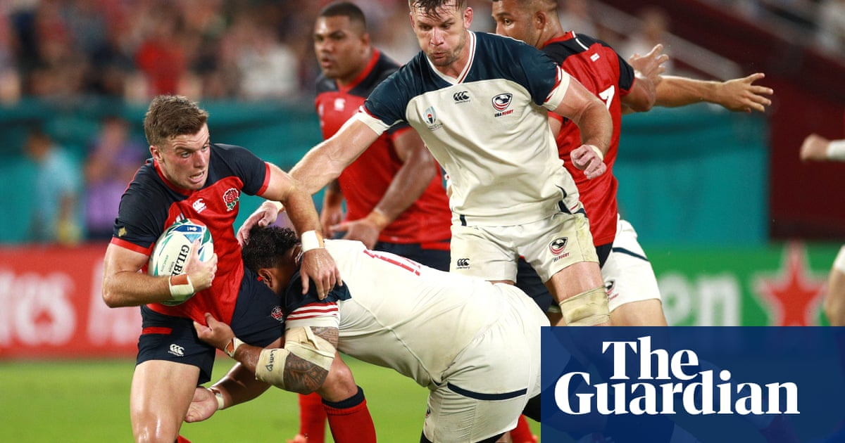 England 45-7 USA: Rugby World Cup player ratings | Michael Aylwin