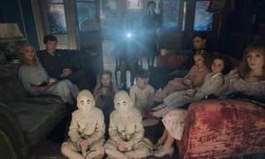 'Burton's aesthetic has always mixed in pink flamingo camp with Hammer Films castles' ... Miss Peregrine's Home for Peculiar Children