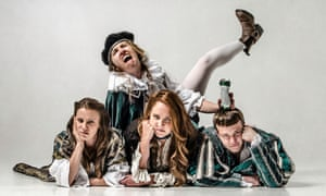 Edinburgh institution … Shit-Faced Shakespeare.