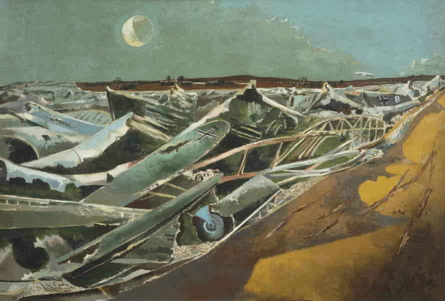Totes Meer (Dead Sea) by Paul Nash.