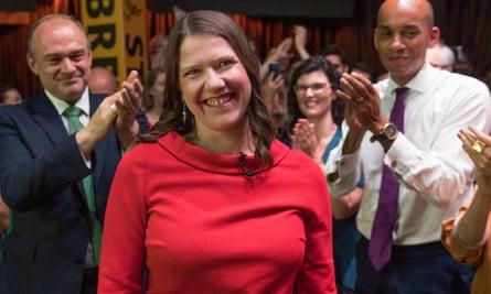 The new Lib Dem leader, Jo Swinson