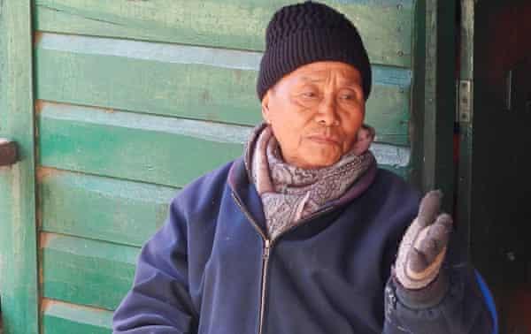 Village elder Tsilie Sakhrie, 77, was instrumental in the formation of KNCT.