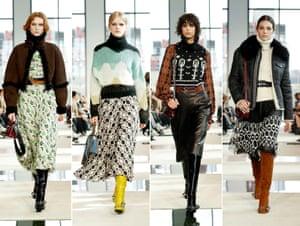 Longchamp woman for autumn/winter 2020