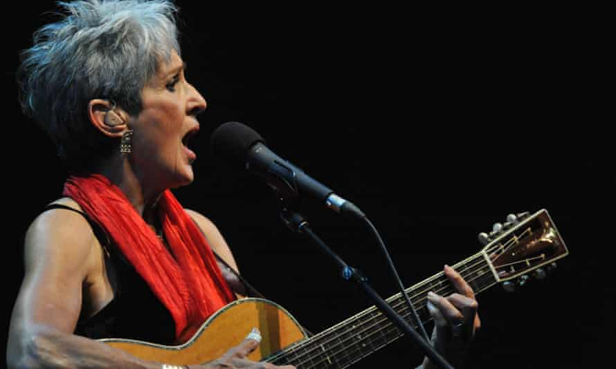 Joan Baez: 'the years have added grain and intimacy to her magisterial voice'