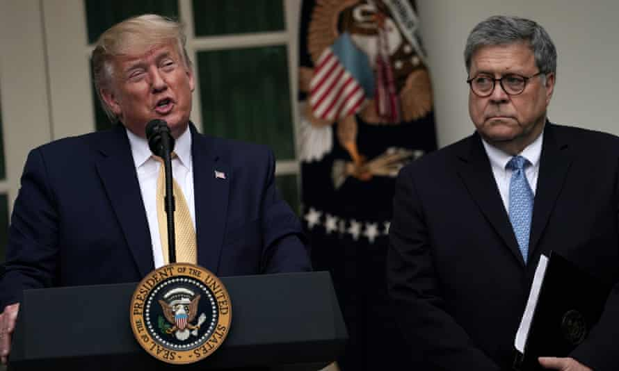 William Barr was previously reported to be 'surprised and angry' to find his name mentioned in a summary of a call between Trump and the Ukrainian president.