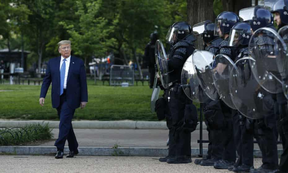 The violent clearing of demonstrators from outside the White House has prompted calls for a review into Barr's role in the dispersal.
