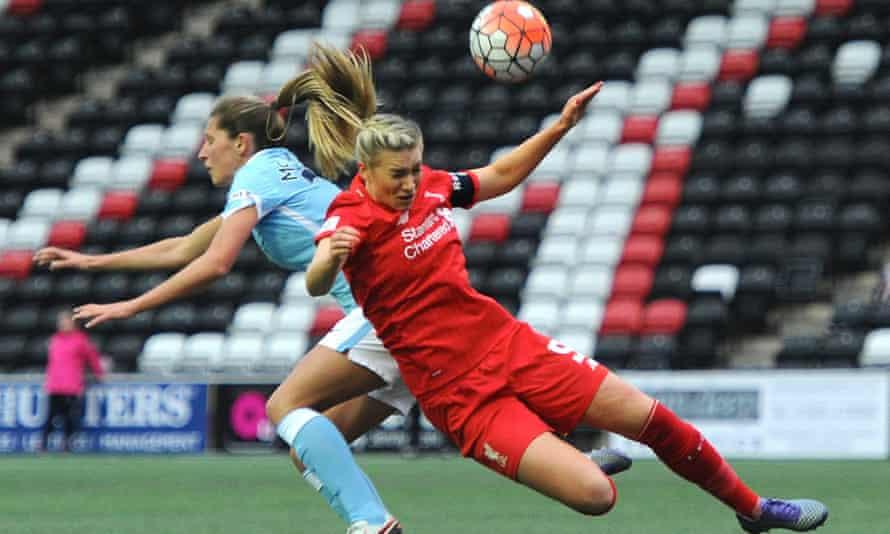 Liverpool's Gemma Bonner