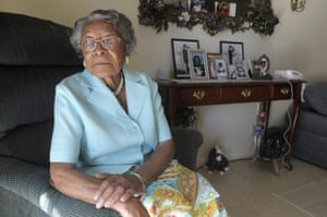 Recy Taylor at her home in Florida in 2010