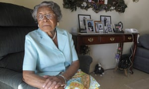Recy Taylor in 2010. 'Recy Taylor was so courageous, so brave to have spoken up.'