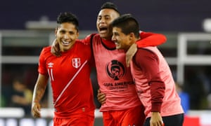 Peru topped a group that included Ecuador and Brazil