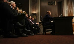 Ross testifies at his confirmation hearing in January.