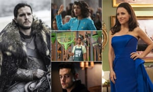 Game of Thrones went home with 23 nominations while newer shows such as Mr Robot and Master of None were also nominated.