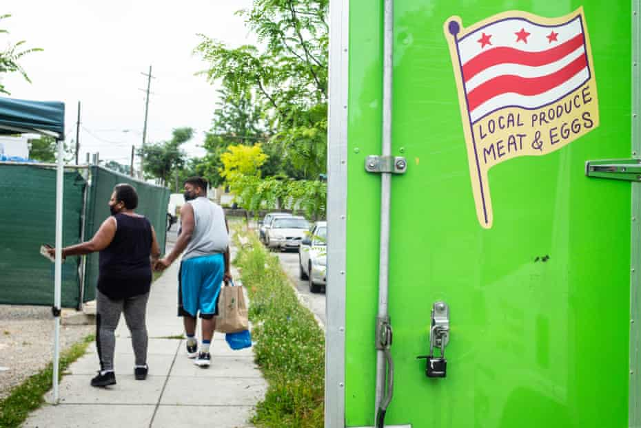 Hundreds of people rely on Arcadia's mobile market for fresh food.