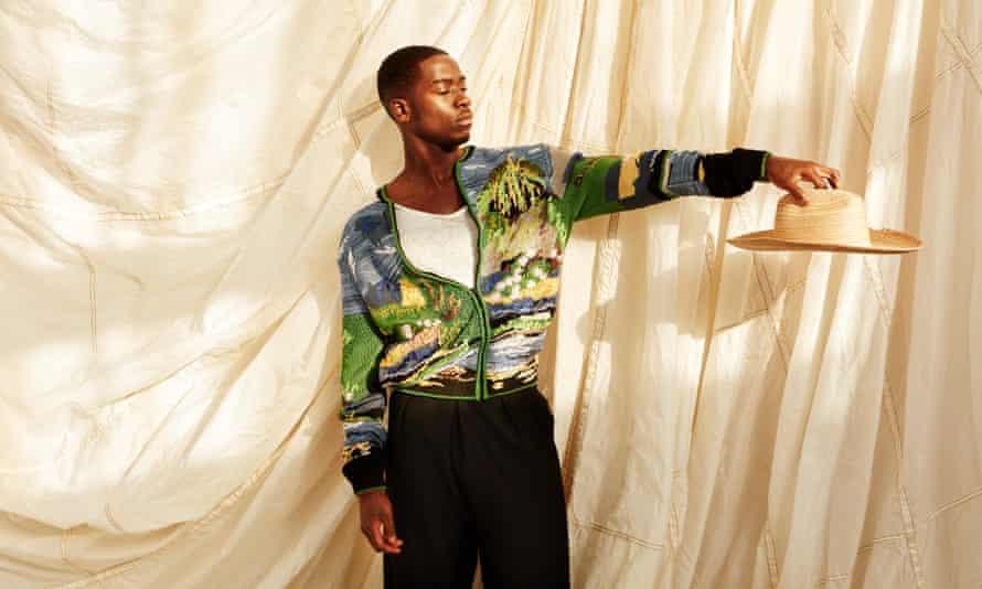 Damson Idris shot for the Observer Magazine_Damson 07 066