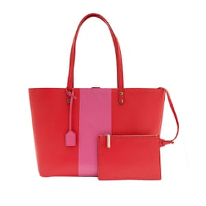 Red and pink bag from boden