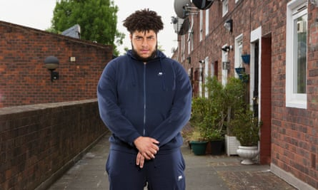 Big Zuu photographed in west London.