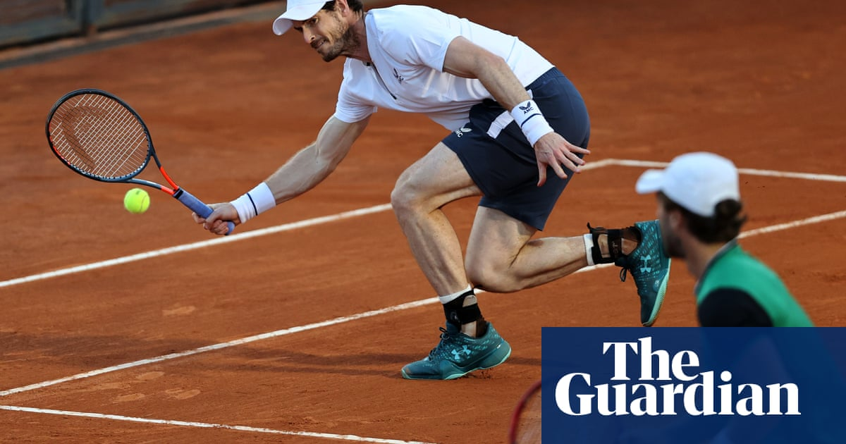 Andy Murray makes winning doubles return with Liam Broady in Rome