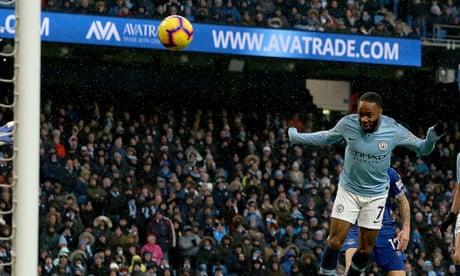 Manchester City's Pep Guardiola praises Raheem Sterling's calmness