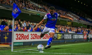 Action from Ipswich's 1-1 draw with Brentford on Tuesday.