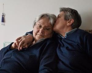 Tina Meriggi, 78 years old, and Lorenza Accorsi, 72 years old, Milan, Lombardy